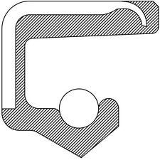 Engine Crankshaft Seal-VIN: E, Pontiac Eng Front 332062