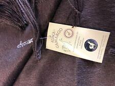 Alpaca Camargo Sciarpa Marrone Made in Peru originale import