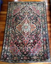 Woolen Rectangle Persian Style Antique Carpets & Rugs