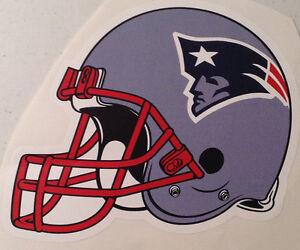 "New England Patriots FATHEAD Team Helmet Graphic 9"" x 7"" NFL Wall Graphics Decal"