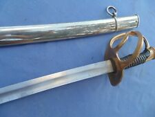 FRENCH TROOP  SWORD VARIANTE  ML 1822/ 1882 IRON SCABARD ONE RING