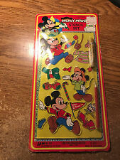 MICKEY MOUSE STENCIL SET SEALED JA-RU 632 / REAL PICS / WRONGWAY052