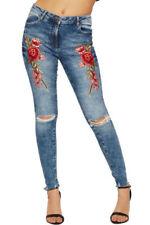 Cotton Floral Pants for Women