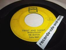 BEATLES-TWIST AND SHOUT/THERES A PLACE TOLLIE 9001 VG+ VINYL RECORD 45