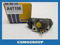 Cylinder Rear Brake Rear Wheel Cylinder Metelli FORD Mondeo MK1 MK2