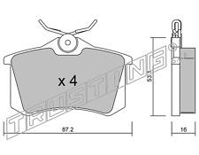 PASTIGLIE FRENO POST A4 CITROEN C4-DS4 RENAULT MEGANE-CLIO-SCENIC-MODUSrif:102.2