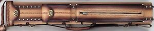 WIN LC24ENH-9 2x4 Tooled Leather Pool Cue Case w/ FREE Shipping