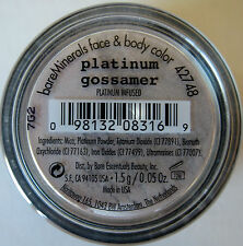 Bare Escentuals PLATINUM GOSSAMER FACE & BODY COLOR - Platinum Silver Shade