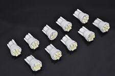 USA SELLER 10pcs Xenon White T10 Wedge -8SMD 3020 LED Light bulbs 194 168 2825