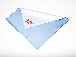 KAUSER DELUXE MICROFIBRE LENS CLEANING CLOTH 30X30CM ULTRA SOFT TV MONITOR CLEAN