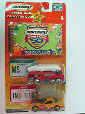 Matchbox Cars Mississippi and Indiana 2 Pack 50th Birthday Series NIB