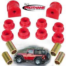 Prothane 1-1112 Rear 13mm Sway Bar & End Link Bushing Kit Jeep Wrangler TJ 97-06