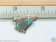 Fly Fishing Reel Pin,  Fishing Rod Fish Lapel Pin  , (Sm ) (**)