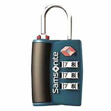 Samsonite TSA Approved 3-Dial Luggage Suitcase Travel Lock with Indicator