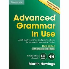 Cambridge ADVANCED GRAMMAR IN USE w Answers & Online THIRD Edit / M Hewings