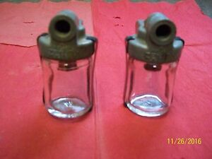 ANTIQUE AUTO FORD CHEVROLET CHRYSLER DODGE PLYMOUTH SEDIMENT BOWL FUEL FILTERS