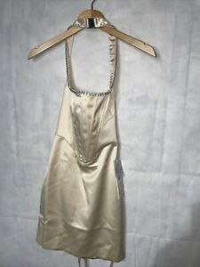 Oh Polly Halter Neck Dress New Tagged Size UK 6