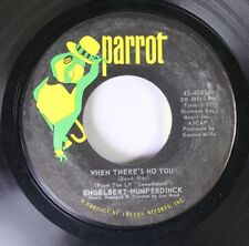 Rock 45 Engelbery Humperdinck - When There'S No You / Stranger Step Into My Worl