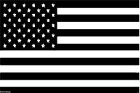 USA AMERICAN FLAG BLACK SUBDUED HELMET BUMPER STICKER DECAL MADE IN USA