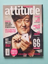 Attitude Magazine November 2010 Stephen Fry John Waters Matt Kennard