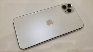 Apple iPhone 11 Pro Max - 64GB - Silver (Unlocked) A2161 in Mint Condition 10/10