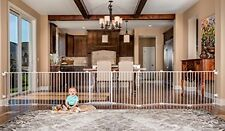 Baby Gate Playpen Play Yard Toddler Indoor Panel Safety Guard Pet Super Wide NEW