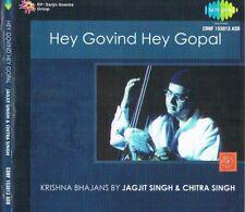 JAGJIT  SINGH  ON  CD 'HEY GOVIND HEY GOPAL'   with Chitra Singh recorded 2002