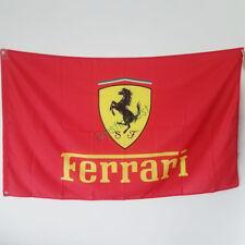 Banner Flag for Ferrari Flag 3x5Ft Wall Banner Shop Show Decor Red