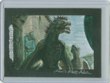 Game of Thrones Mick and Matt Glebe Drogon and Rhaegal Dragon Sketch Card