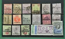 BECHUANALAND  STAMPS SELECTION OF 19 ON  STOCK CARD   (C137)