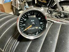 Original 1972 Kawasaki H2 750 Triple Two Stroke Speedometer Gauge Speedo Rare!
