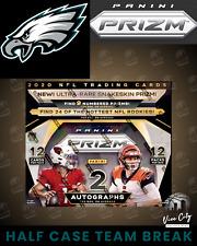 PHILADELPHIA EAGLES - HALF CASE TEAM BREAK - 2020 PANINI PRIZM NFL HOBBY