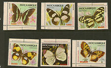 Mozambico: 1979 Farfalle Set SG 791-6 Unmounted MINT