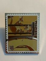 Pin Trading Stamp Collection Pooh's Head Kanga And Roo Chaser Disney Pin LE (B7)