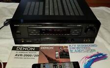 Denon AVR 2000 Receiver