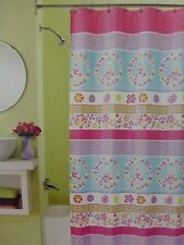 "Peri Home Peace Fabric Shower Curtain 70"" x 72"" NIP"