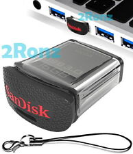SanDisk SDCZ43 16GB 16G USB 3.0 Flash Drive Disk Nano Car Memory w/ RescuePRO