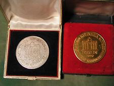 2x Medaillen Medaille Bäcker Bäckerinnung Kulinaria