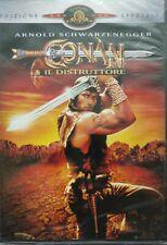 Conan il Distruttore DVD edizione speciale Nuovo sigillato