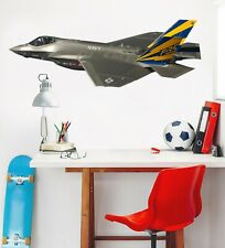 3D Metal Fighter G080 Car Wallpaper Mural Poster Transport Wall Stickers Wendy