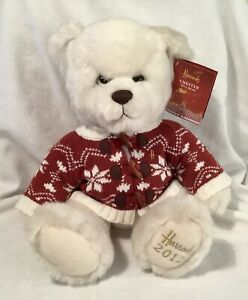 HARRODS 2012 CHRISTMAS BEAR - CHESTER BEAR IN EXCELLENT CONDITION WITH TAG