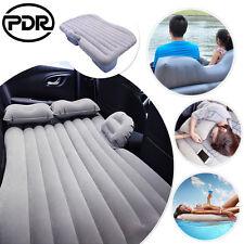 Car Seat Inflatable Sleep Rest Bed Travel Air Cushion Mattress Sofa + Pillows US