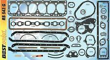 Best Full Engine Gasket Set Headmanifoldvalve Cover For Chevygmc 235 1953 63 Fits 1958 Chevrolet Truck