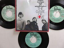 LOT OF 4 WAYNE FONTANA/THE MINDBENDERS HIT45's+1P(Copy)[Game Of Love] THE 60's!