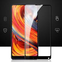 Pellicola VETRO trasparente bordo NERO protezione display per Xiaomi Mi Mix 2S
