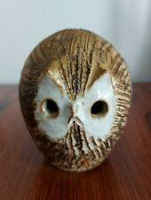 "Briglin Pottery 5"" Owl money box 1970s London Design Award"