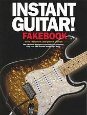 Instant Guitar Fakebook Sheet Music Book NEW 014016108
