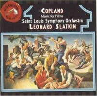 Copland: Music for Films - Audio CD By Aaron Copland - VERY GOOD