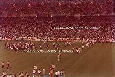 FOTO ORIGINALE FINALE MONDIALE DI CALCIO 1982 ITALIA GERMANIA - AZZURRI - (32-1)