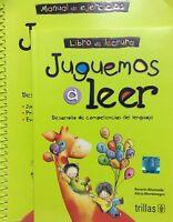 JUGUEMOS A LEER LIBRO Y CUADERNO